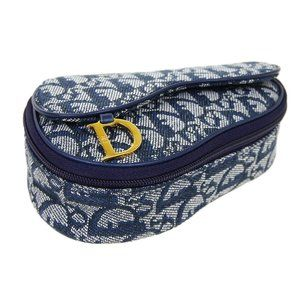 Christian Dior Trotter Saddle Mini Cosmetic Pouch